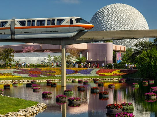 Richly-hued flowers and floating gardens adorn the