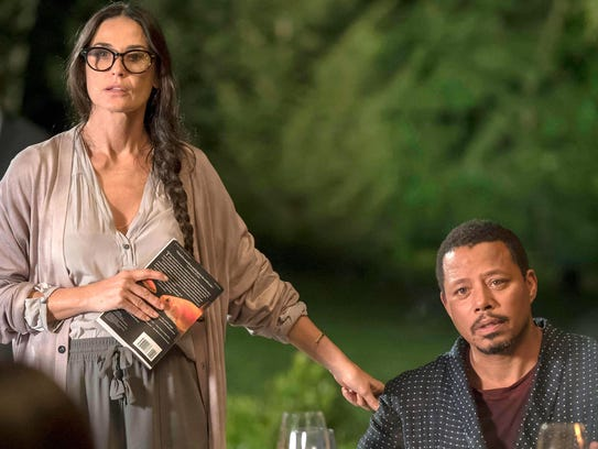 Demi Moore has joined Terrence Howard in the cast of