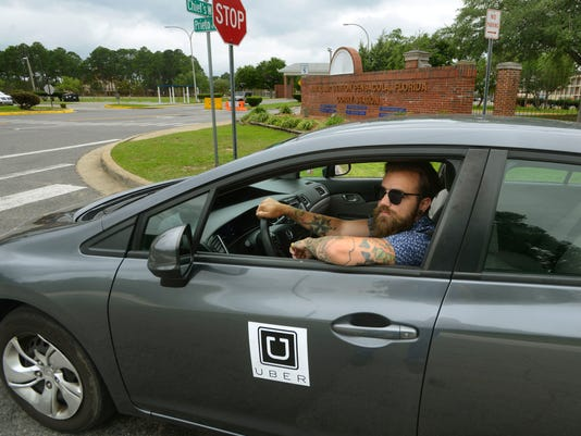 Uber Drivers off Military Bases 1