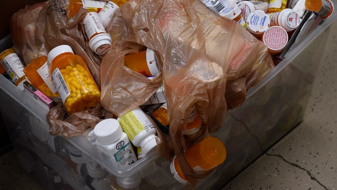 The Tullahoma police drug drop box collected close to 40 pounds of prescription drugs in two weeks.