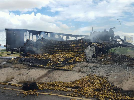 lemon-truck crash