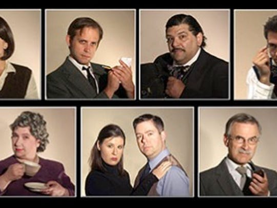 "The cast of ""The Mousetrap."""