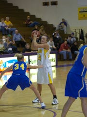 Amber Rall Groves still holds numerous records at Ashland University after graduating in 2007.