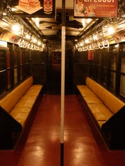 Views from a model 4902 Subway car from circa 1917