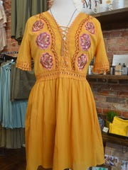 Brightly-colored embroidery is a popular trend for