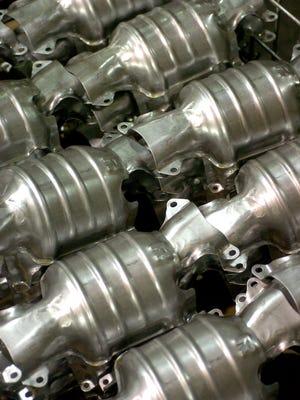 Catalytic converters.