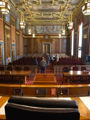 The Ohio Supreme Court offices and courtroom are located in downtown Columbus.