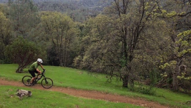 Mule Ridge offers trails with a mix of topography and great views.