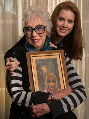 Actress Amy Adams portrays artist Margaret Keane in 'Big Eyes,' directed by Tim Burton. Photographed Dec. 9, 2014, at Four Seasons Hotel in Los Angeles.