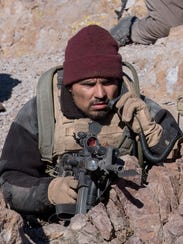Michael Pena in '12 Strong.'