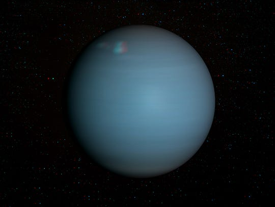 Uranus will be visible this week.