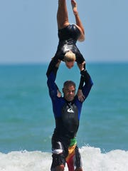 Tandem Surfing will be on display on Labor Day at the