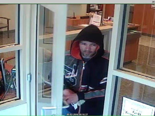 Ocean City Home Bank video footage shows suspect in