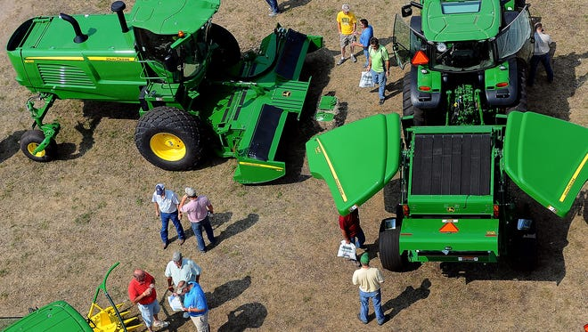 Determining how much agriculture business is transacted in Sioux Falls is not easy.