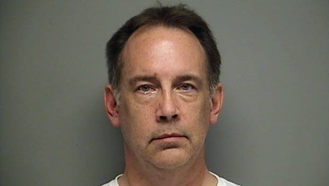 Steven Zelich in an undated booking photo. The West Allis former police officer was charged Thursday with hiding a corpse after the bodies of two women were found stuffed in suitcases deposited along a rural road in Walworth County in southern Wisconsin.