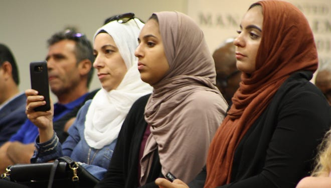 Members of the Brevard County Muslim community turned out Tuesday night in support of a history textbook that's recently come under fire before the school board.