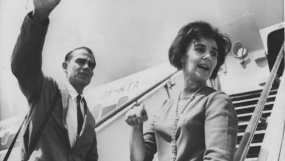 Bob Finkbine and his wife, Sherri Chessen, traveled