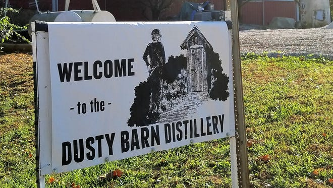 You'll find Dusty Barn Distillery just south of Highway 62 on Carson School Road, between Evansville and Mount Vernon.