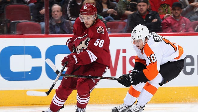Brayden Schenn and the Flyers are hoping to take advantage of a struggling Coyotes team.