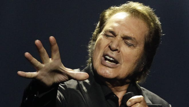 Engelbert Humperdinck performs May 27, 2012 during the final show of the Eurovision Song Contest in Azerbaijan. He is scheduled to perform in Branson May 14.