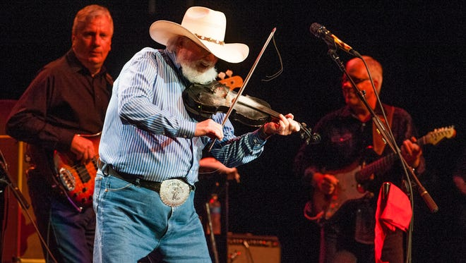 Charlie Daniels plays at the Montgomery Performing Arts Center in Montgomery, Ala. on Saturday August 20, 2016. The concert was part of the Buckmasters Expo.