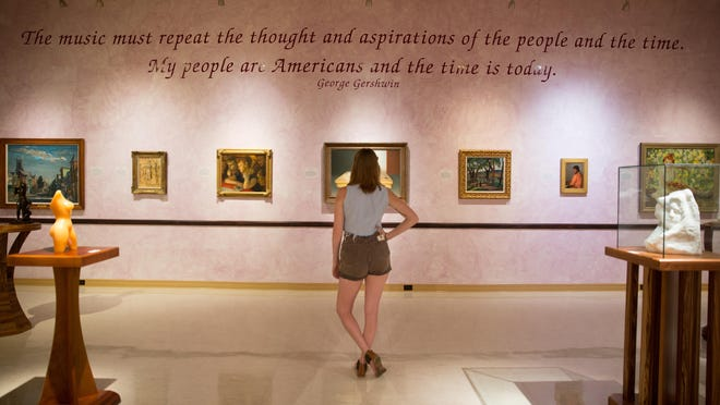 The art collection spans more than four millennia at Norton Art Gallery.