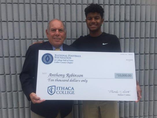 Golden Gate High School's Anthony Robinson won the