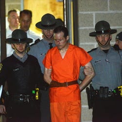 """Pennsylvania State Police said Eric Frein, wanted for allegedly killing one trooper and wounding another during a sniper ambush on Sept. 12, belongs to a """"military simulation unit"""" that role-plays as soldiers from Eastern Europe."""