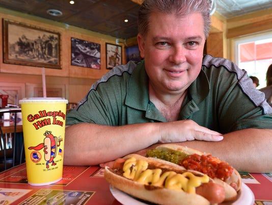 John Fox, hot dog, Galloping Hill Inn, Union