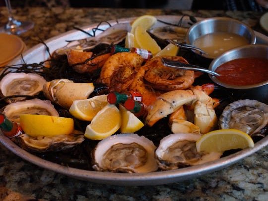 Seafood platter from Quinn's.