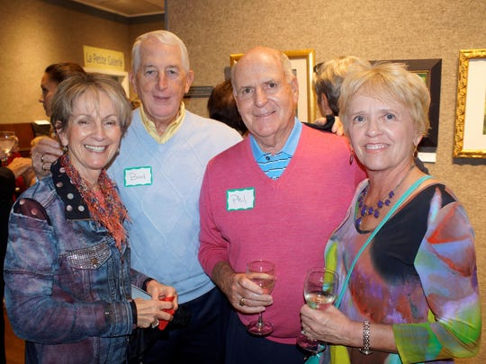 Dianne and Bud Kendall with longtime friends Phil and Sue Collins.