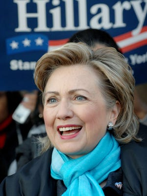 Hillary Clinton in 2006.