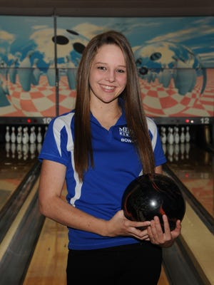 Mercy senior Tori Brackett qualified as an individual to the girls Division I state bowling tournament March 13.