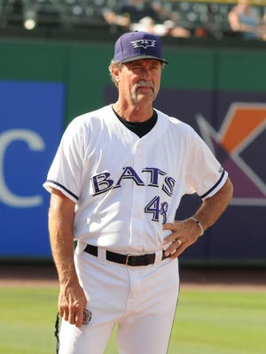 Louisville Bats pitching coach Ted Power.