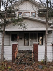 A vacant home on the 900 block of Rogers Street.