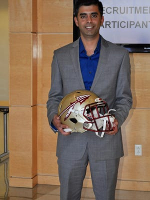 Ingrole's research and innovative helmet design will allow FSU football to use materials unlike any other program in the country.