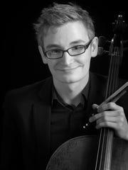 Cellist Alexander Hersh.