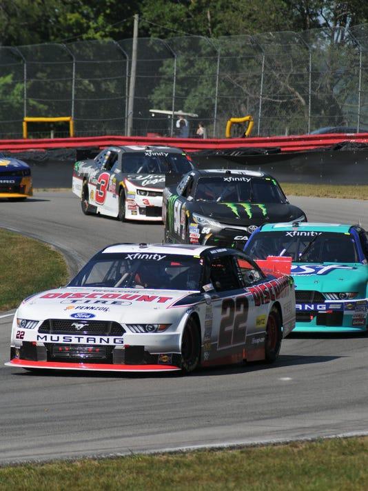 Racing:  NASCAR Nationwide Children's 200