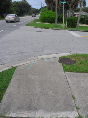 """Cocoa Beach looks like the Shel Silverstein book """"Where the sidewalk ends"""" in some places. In places, the sidewalk just stops. There are plans in the works to add and continue sidewalks on Orlando Ave. and additional sidewalks on Atlantic Ave. At 2nd St South on Orlando Ave. the sidewalk just ends."""