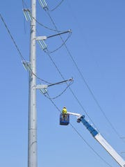 Transmission-line construction by American Transmission