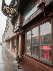 The Raven Cafe in downtown Port Huron will be temporarily closed next week for construction work.