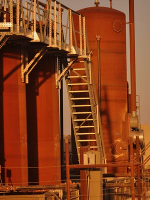Battery tanks, pump jacks and exploration rigs are common sites in the oil and natural gas rich Permian Basin. Eddy County, New Mexico has seen a resurgence of industry in the energy sector.