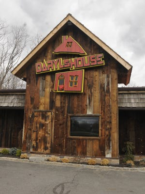 The exterior of Daryl's House, the restaurant and live music club located in Pawling and operated by Daryl Hall.