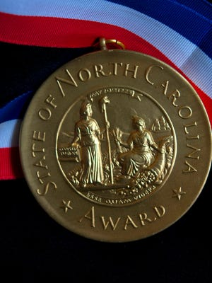 The North Carolina Award was created by the General Assembly in 1961.