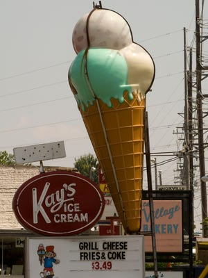 Kay's Ice Cream on Chapman Highway