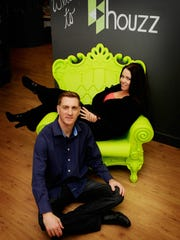 Houzz's CEO Adi Tatarko and her husband Alon Cohen