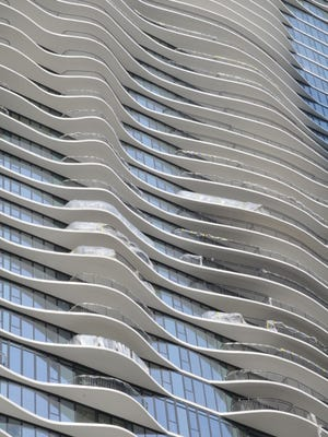 Chicago's undulating Aqua Tower is one of the signature designs of Jeanne Gang, winner of the 2017 Marcus Prize awarded by UWM's School of Architecture and Urban Planning.