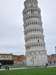 The Leaning Tower of Pisa in Italy was built in the