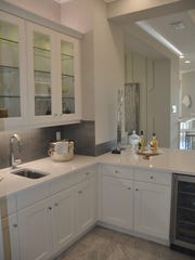The wet bar is another special feature of the Carlyle.