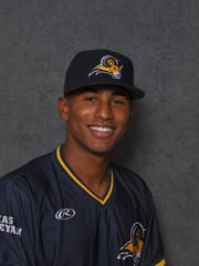 Texas Wesleyan baseball player Donnie Lopez